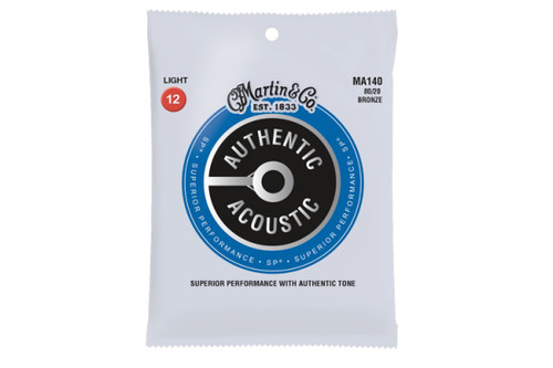 Martin Authentic Acoustic Guitar Strings - Phosphor Bronze - Extra Light 12-String