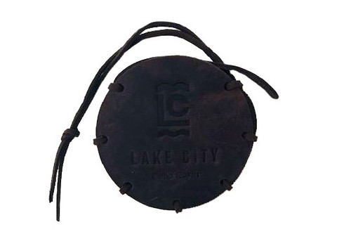 Lake City Premium Cello Rosin with Leather Carrying Case