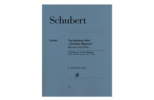 """Variations on """"Trockne Blumen"""" in E minor, Op. Post. 160, D 802 - Schubert"""