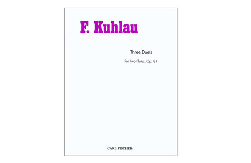 Three Duets For Two Flutes, Op. 81 - Kuhlau