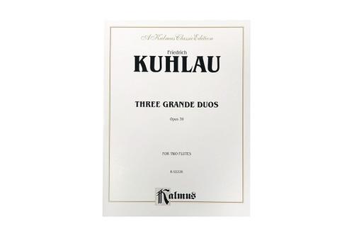 Three Grande Duos Op. 39 - Kuhlau