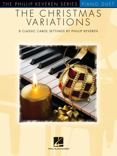 Christmas Variations  PIANO DUET  KEVEREN