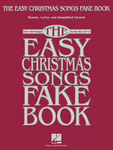 Easy Christmas Songs Fakebook