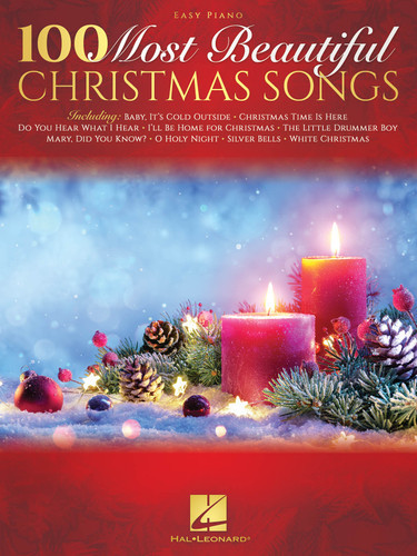 100 Most Beautiful Christmas Songs  Easy  Piano