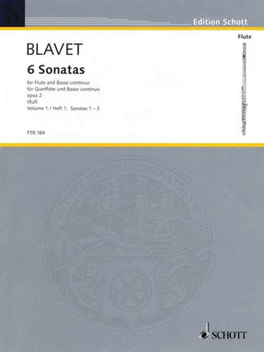 6 Sonatas Op. 2, Vol. 1 - Blavet