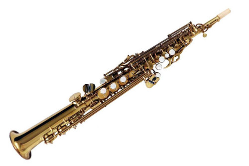 Front Facing Picture of Lake City Soprano Saxophone