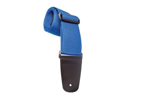 Henry Heller Guitar Strap - Blue Polyester