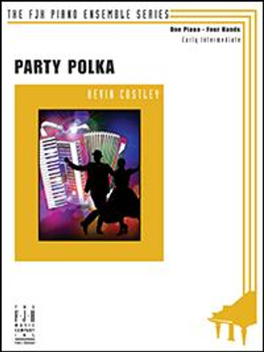 Party Polka (1 Piano, 4 Hands) - Kevin Costley