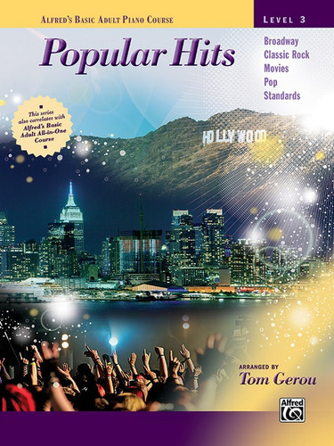 Adult Piano Course Popular Hits, Level 3