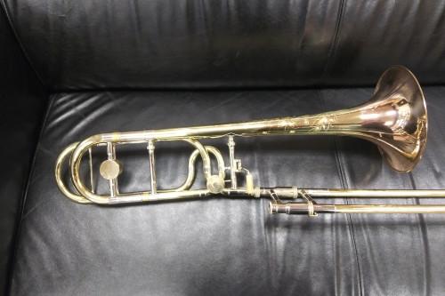 Used Shires Custom Large Bore Tenor Trombone