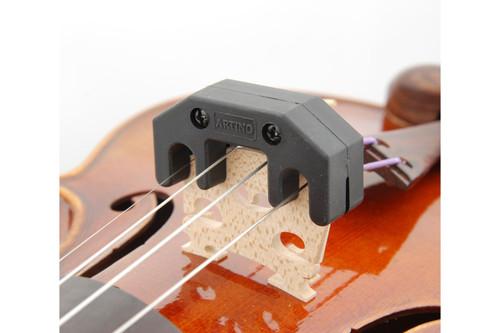 Artino Practice Mute on Instrument Bridge