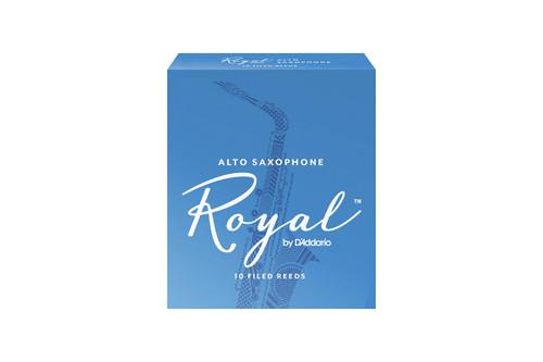 Royal by D'Addario Alto Saxophone Reeds Box of 10