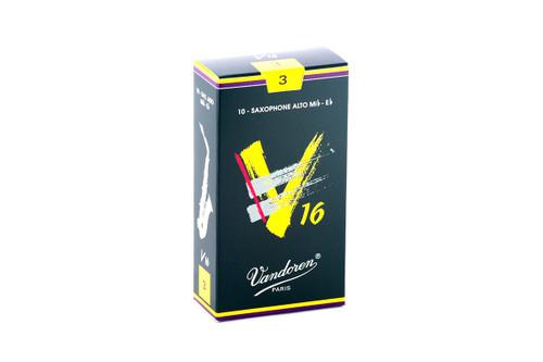 Vandoren V16 Alto Saxophone Reeds Box of 10