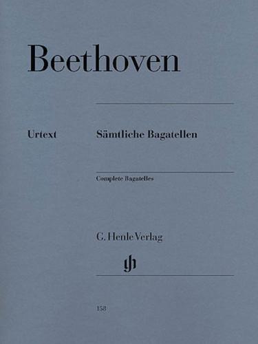 Beethoven: Complete Bagatelles - Henle Edition
