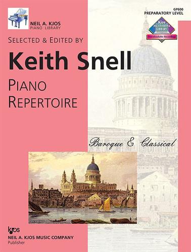 Piano Repertoire: Baroque/Classical-Prep