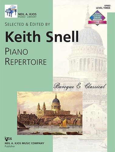 Piano Repertoire: Baroque/Classical Level 3