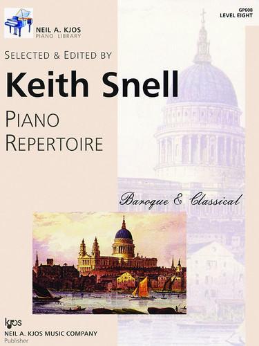 Piano Repertoire: Baroque/Classical Level 8