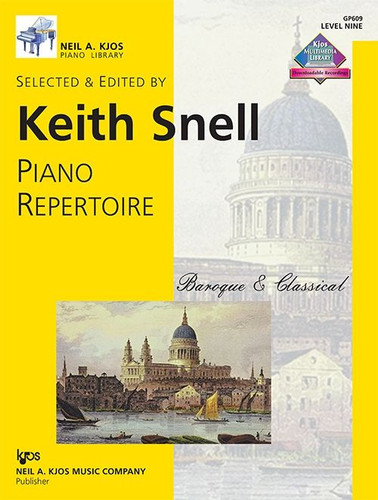 Piano Repertoire: Baroque & Classical Level 9