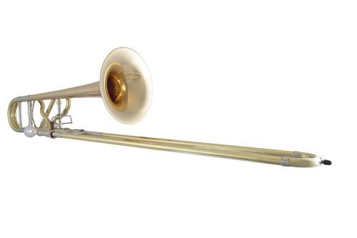 Bach Artisan Trombone Horizontal Image on White Background
