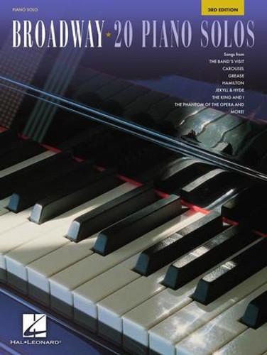 Broadway 20 Piano Solos Cover Photo