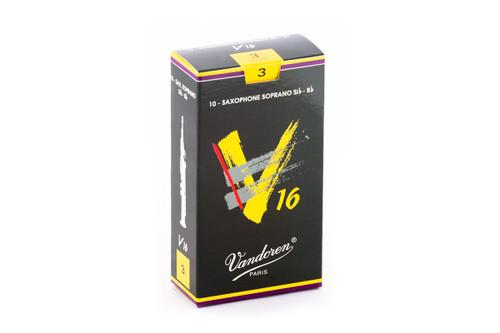 Vandoren V16 Soprano Saxophone Reeds Box of 10