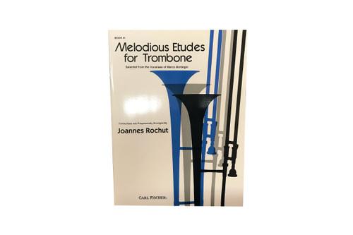 Melodious Etudes for Trombone - Joannes Rochut