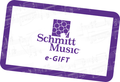 Schmitt Music e-Gift Card