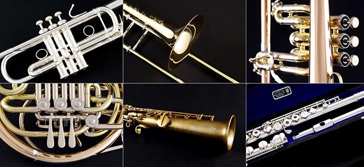 music instruments banner