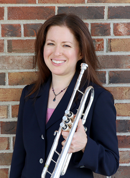 Trumpet Shop Manager & Trumpet Specialist, Laura Saylor