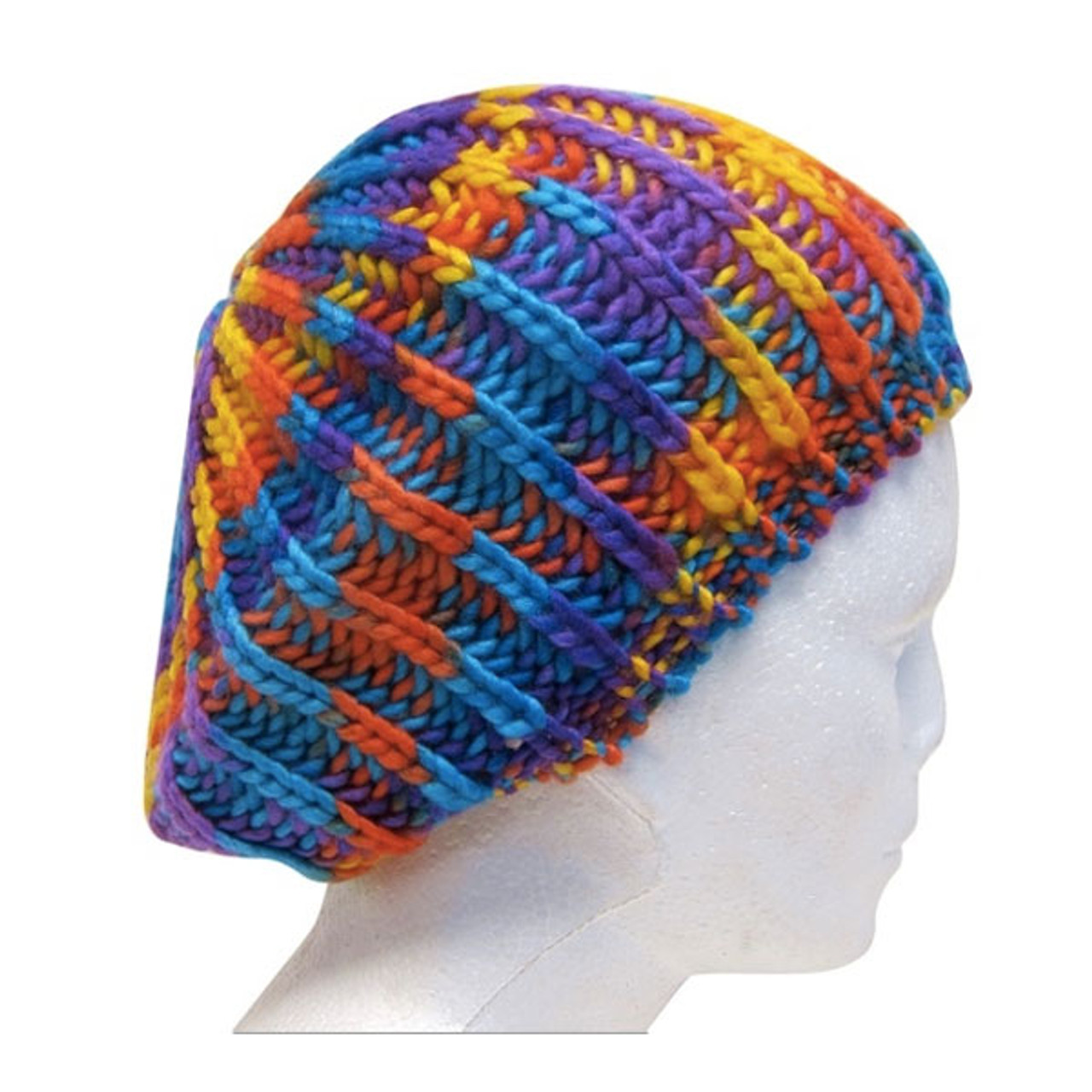 ab591db68 Downtown Style - Space Dyed Knit Beret