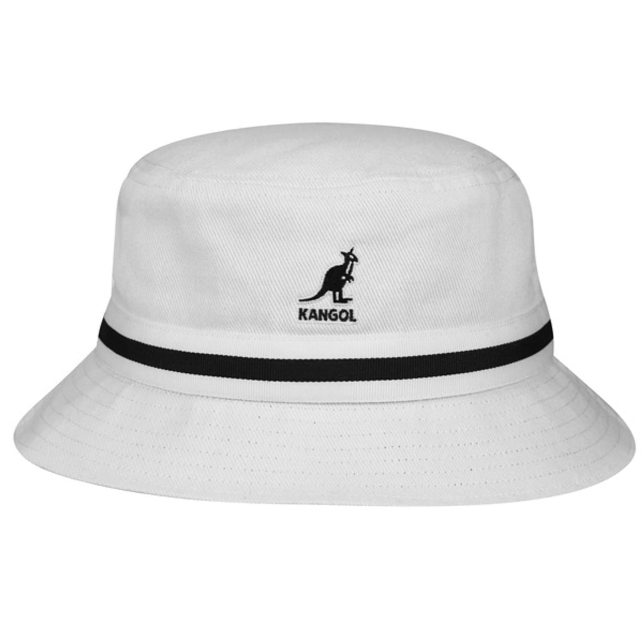 51c19cabb5c4ea Kangol   Stripe Lahinch Bucket Hat   Hats Unlimited