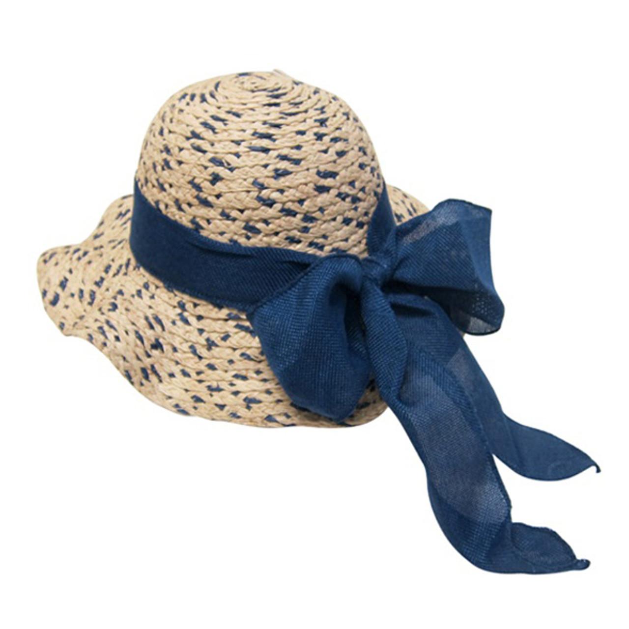 c017dec8e Boardwalk Style - Girls Raffia Straw Sun Hat