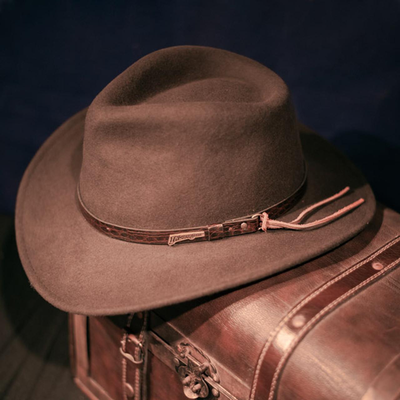 949b8ae6f Dorfman Pacific - Indiana Jones Outback Hat