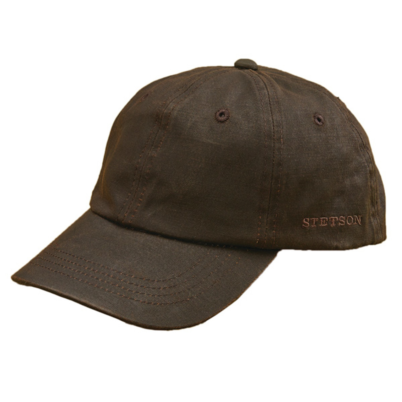 3750c6629 Stetson - Distressed Cotton Baseball Cap