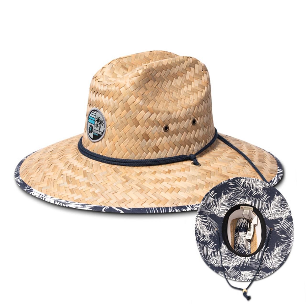 13e42de8c Kooringal - Jungle Surf Straw Lifeguard Hat