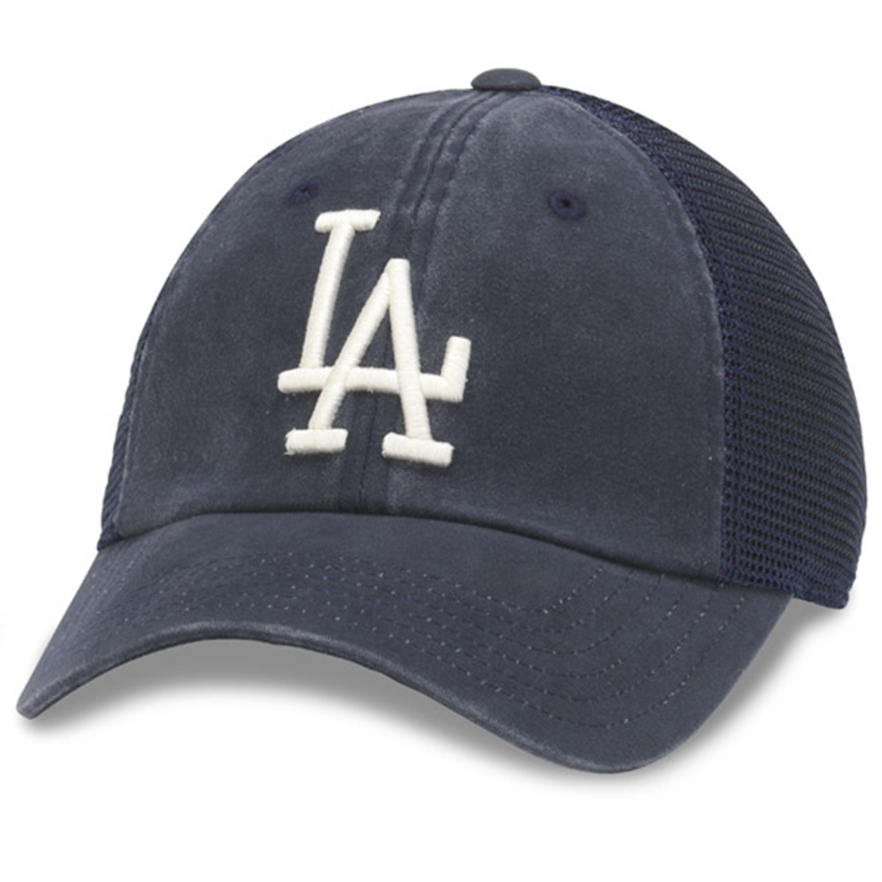 d1933ca4 American Needle - LA Dodgers Distress Mesh Baseball Cap