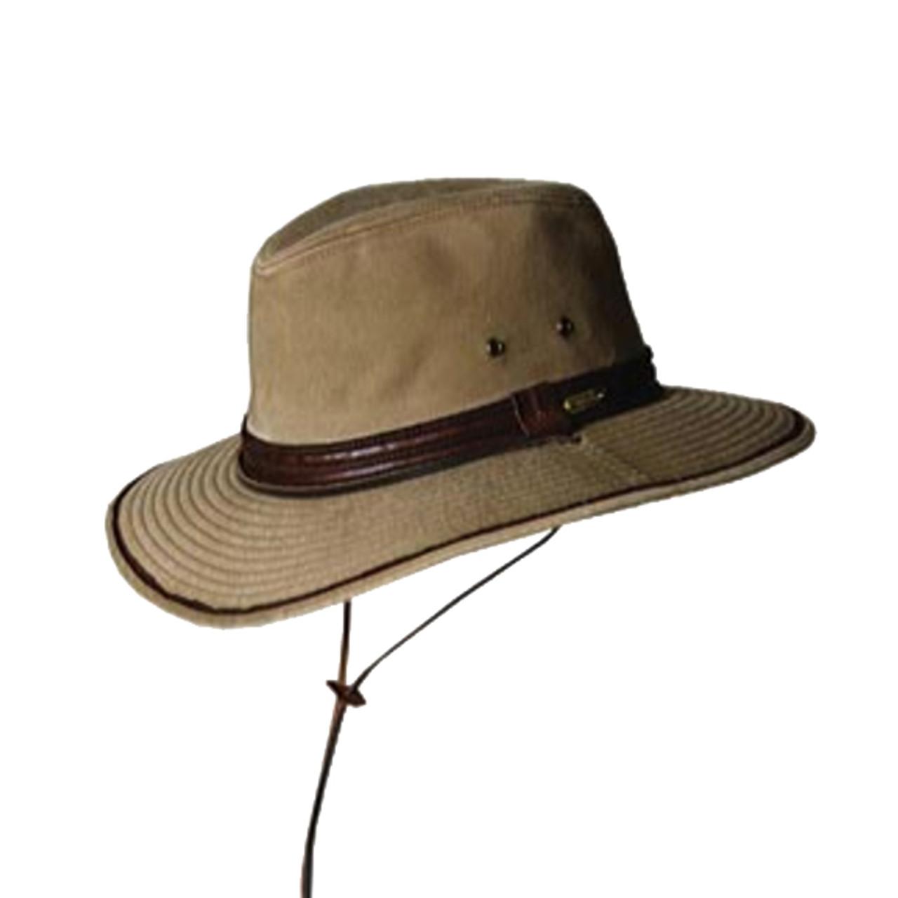 f8c1ba5c308ddd Clearance Stetson   Garment Wash Twill Safari Hat   Hats Unlimited