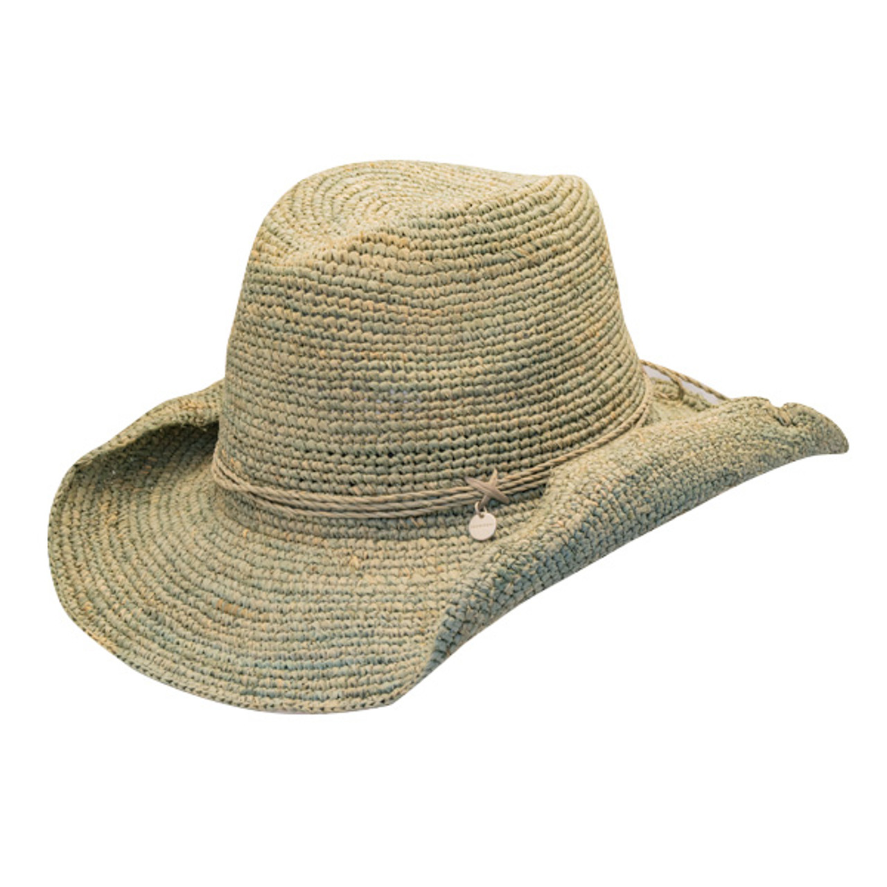 0547ad49c Kooringal - Greta Crochet Raffia Cowboy