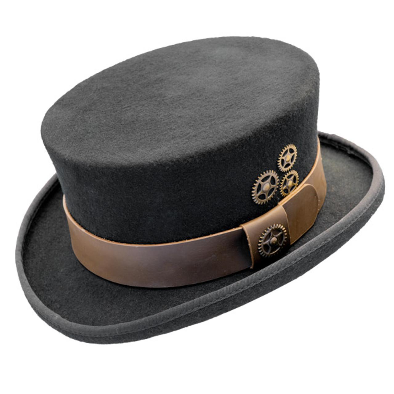 434ea3c82 Conner - Low Crown Steam Punk Top Hat