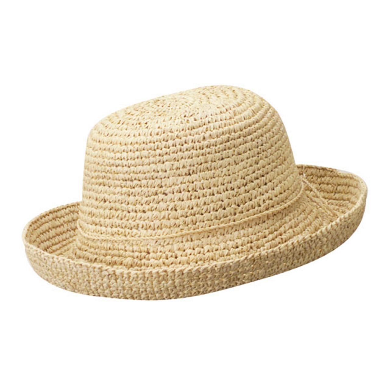 77859f89e8d9c7 Dorfman Pacific | Crochet Raffia Sun Hat | Hats Unlimited