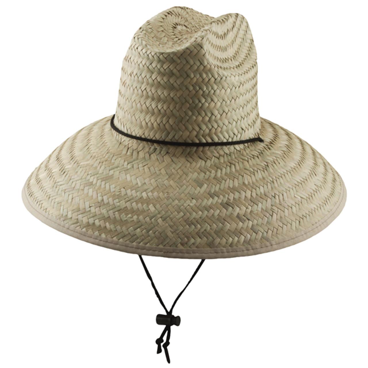 b0e5866f3 Dorfman Pacific - Palm Lifeguard Straw Sun Hat