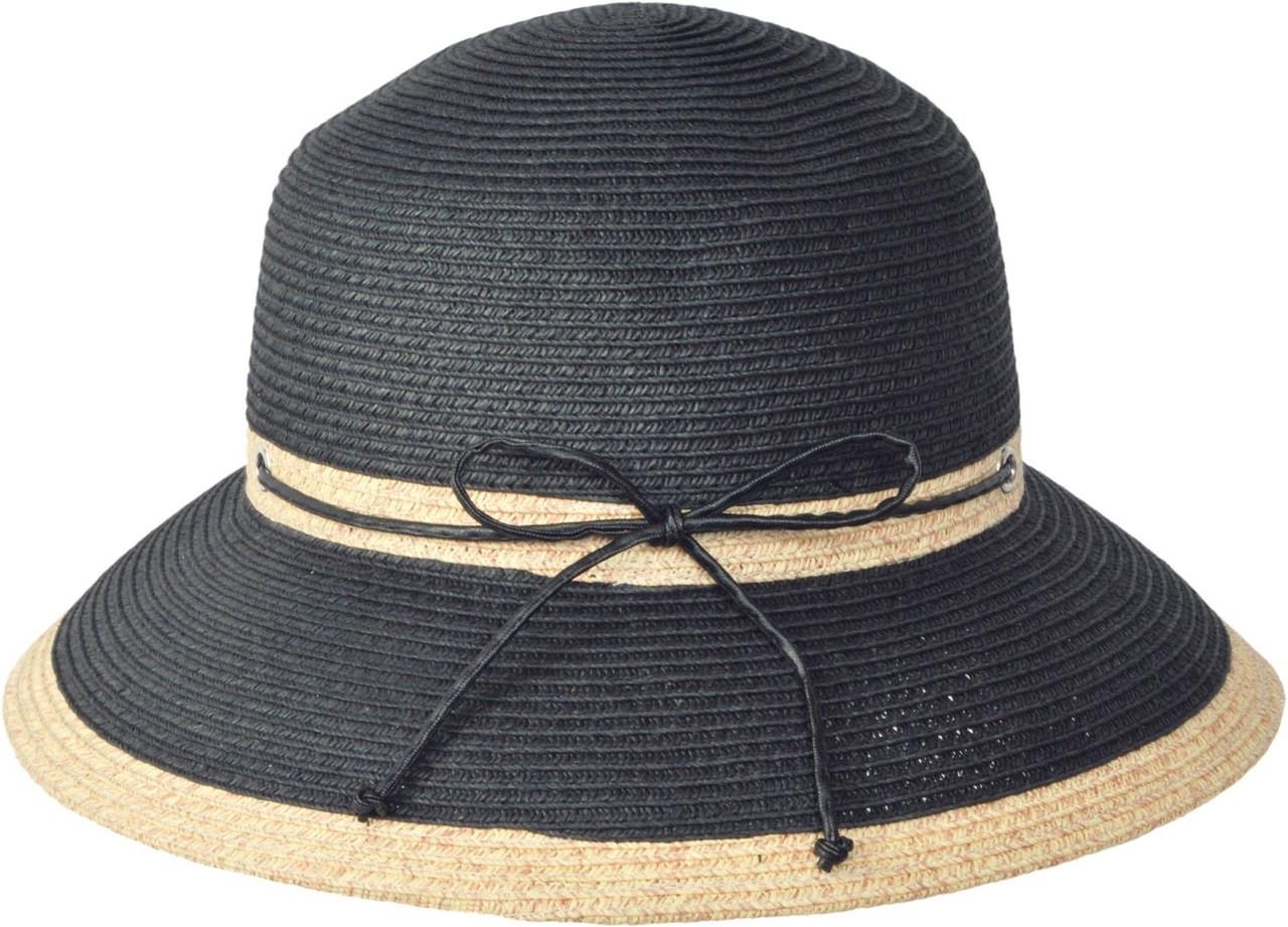 fbf22687b103b Kenny K. Karen Keith - Two Tone Braided Cloche Hat