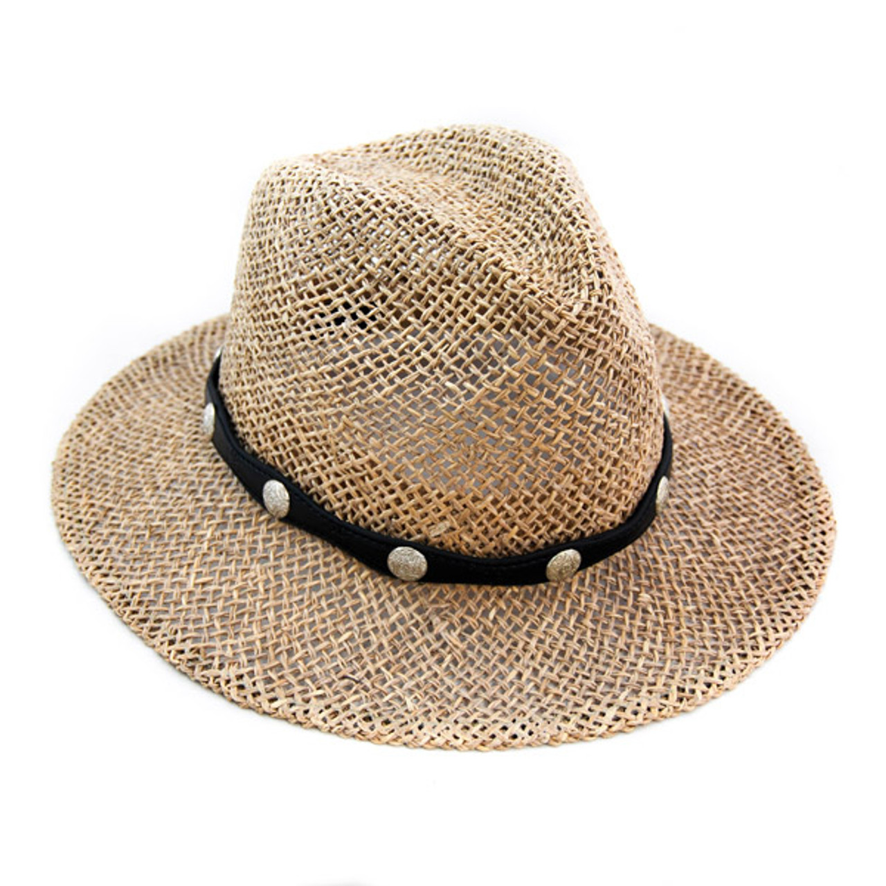 0430768fb Kenny K - Faux Leather Hat Band