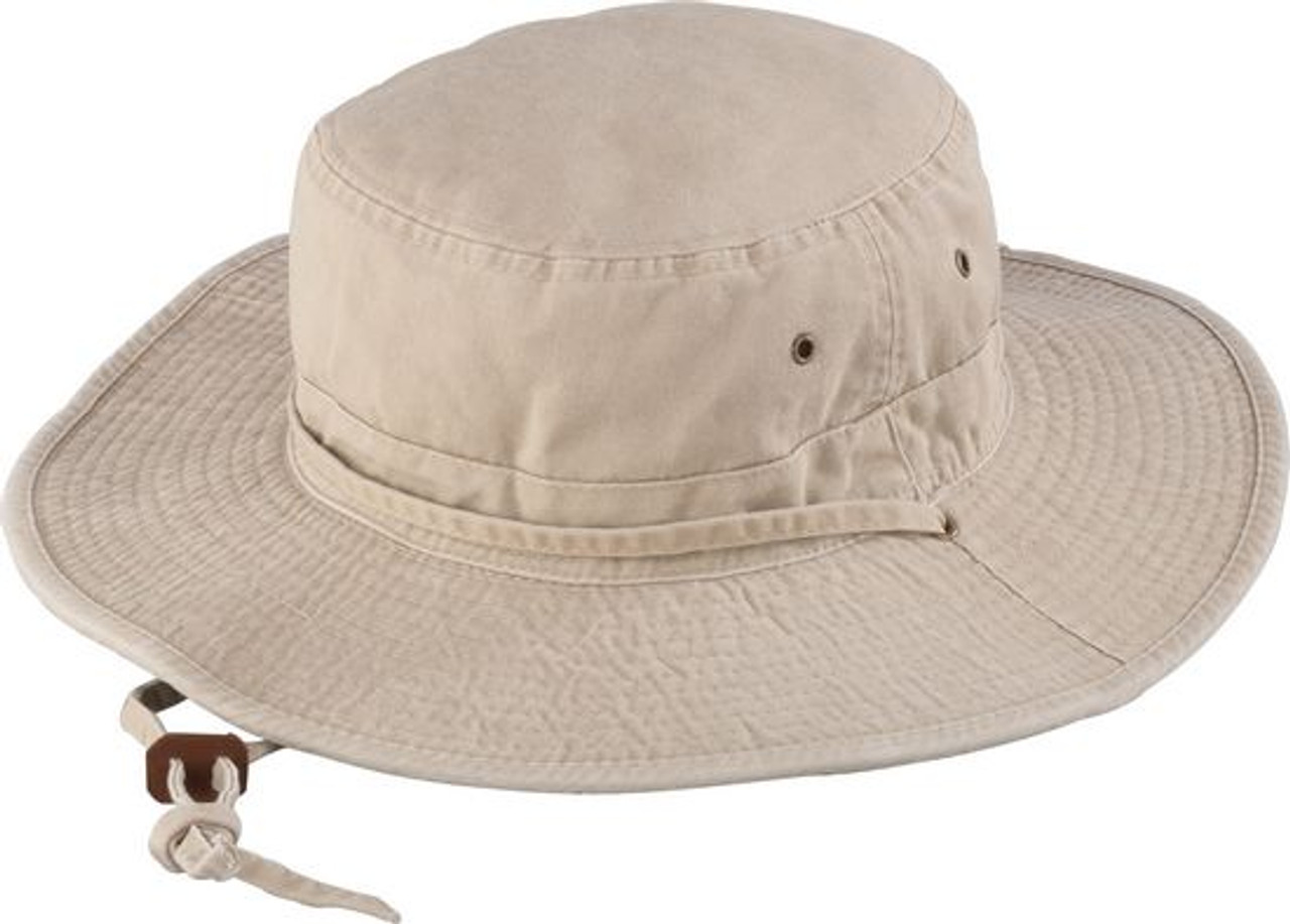 X-Large Henschel Mens 10 Point Multi-Feature UPF 50 Booney Hat Tan