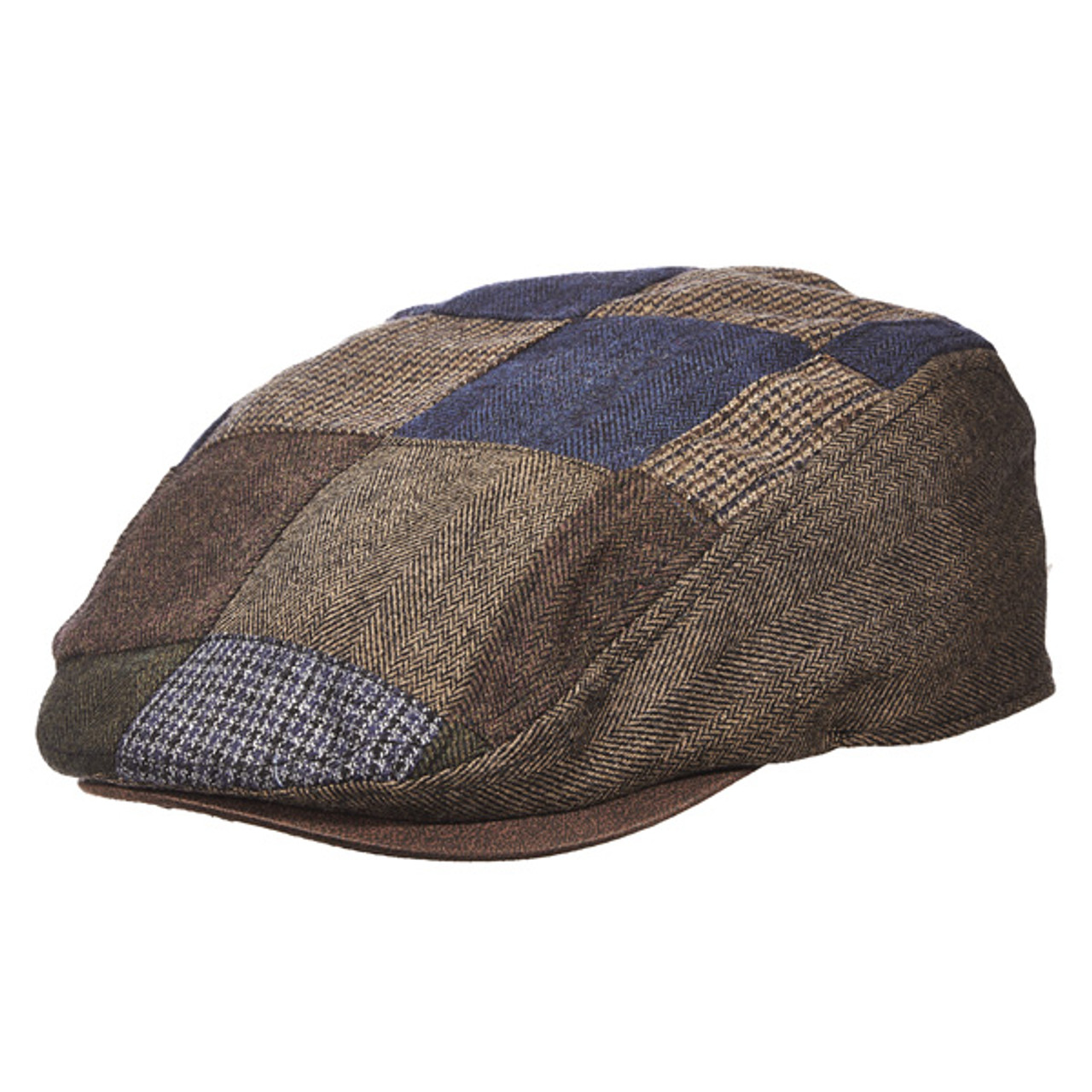f474d2129 Dorfman Pacific - Wool Plaid Ascot Cap