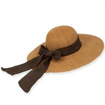 Sun  N  Sand - Melina Crochet Straw Wide Brim Hat 5e88afccdce
