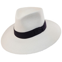 2d6ad5c044d Bigalli - Australian Panama Hat with Black Ribbon