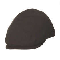 e1089e5ca97ca TLS Stefeno Ken Cotton Fashion Panel Flat Cap in Black - Full View