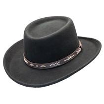 00d361dcfda Conner - Wool Felt Arizona Gambler Hat -