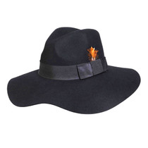e7e88802934 Conner - Allison Floppy Wool Hat in Black - Full View · Choose Options.  Compare. Conner Hats